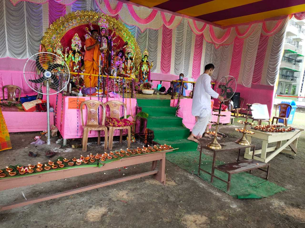 Puja Ongoing